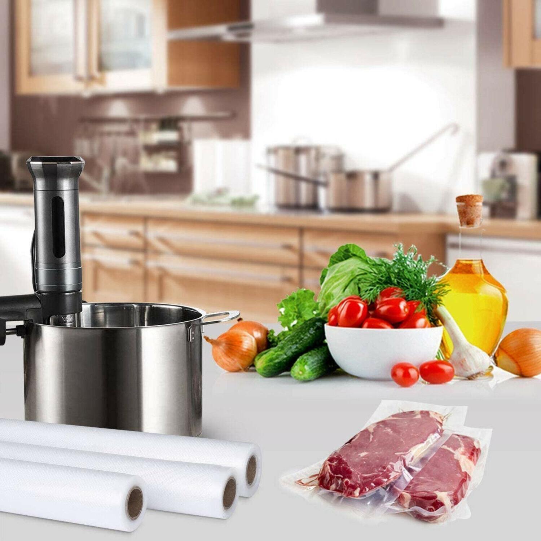 Vacuum of 2 11x50 Food Storage Bags Seal Meal