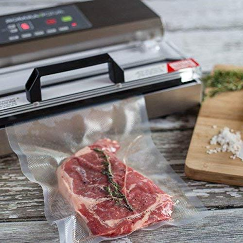 11x50 Roll. Food Meal Vac Duty Commercial, BPA Free, Sous Vide Safe, Cut to Bag Embossed Avid Armor