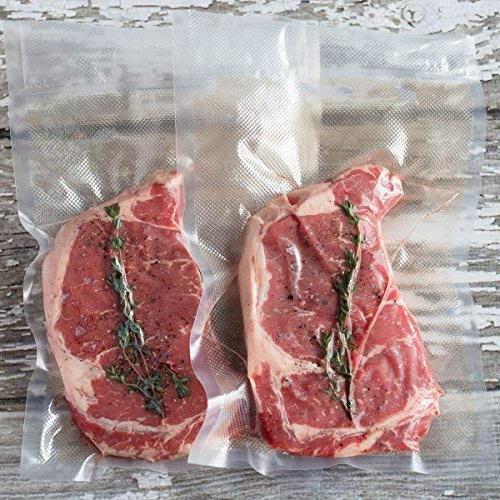 Roll. Pack Food Saver, Seal Meal Vac Heavy Sous Cut Bag Rolls 100 Feet Embossed Avid