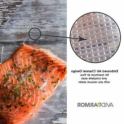 "3 Roll Vacuum Sealer Food Saver Seal Meal Storage 8"" 20'"