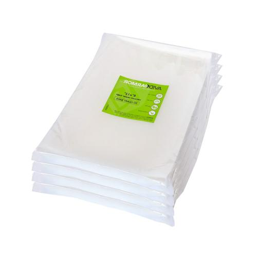 200 Quart Vacuum Sealer Storage Bags Size 8 x 12 Inch for Fo