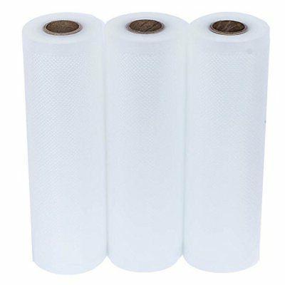 3 x 20' Vacuum Sealer Rolls Food Seal a Sealers,