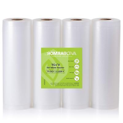 3 roll pack vacuum sealer bags rolls
