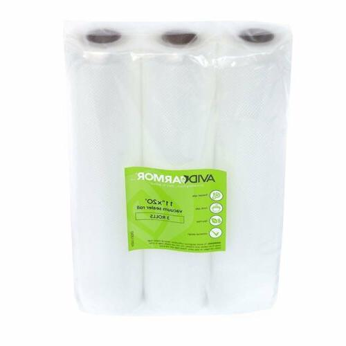 3 ROLLS Bag Container A Meal Home