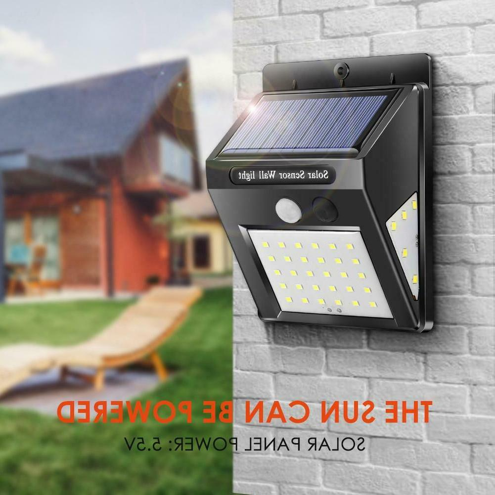 30/40LED Solar Power PIR Motion Security Outdoor