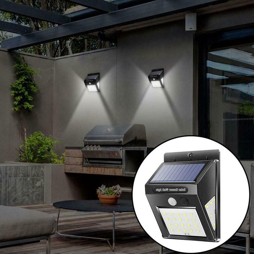 30/40LED Solar Power Light Security Yard