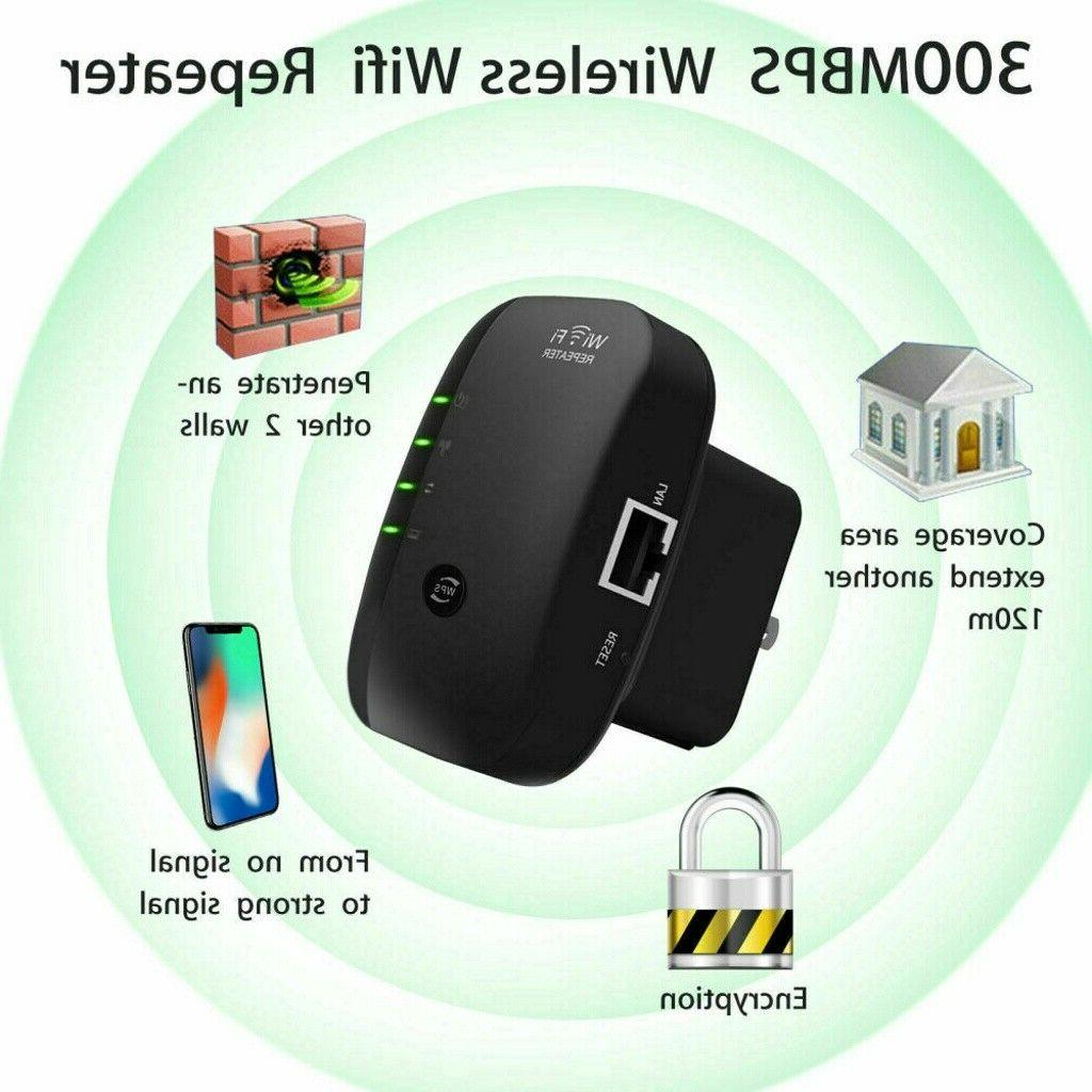 300Mbps AP Repeater Booster Wireless-N