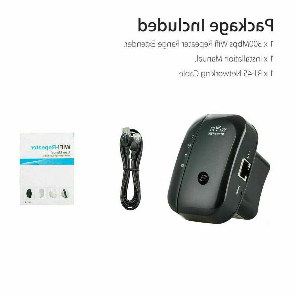 300Mbps 802.11 Repeater Signal Booster Range