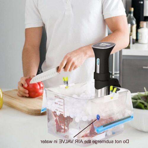 30X Reusable BPA Free Food Vacuum Food Bag