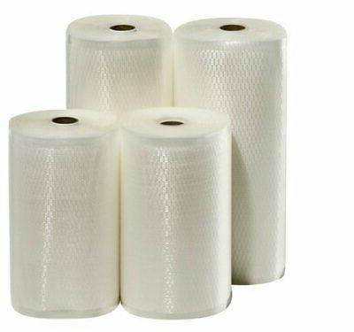 """4 Weston Rolls! Two 8"""" X 50' and Two 11"""" X 50' Roll Vacuum S"""