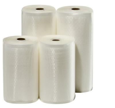 "4 Weston Rolls! Two 8"" X 50' and Two 11"" X 50' Roll Vacuum S"