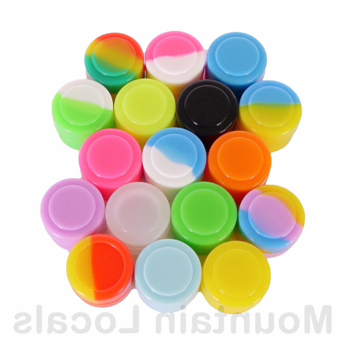10 Containers Mixed Colors Lot