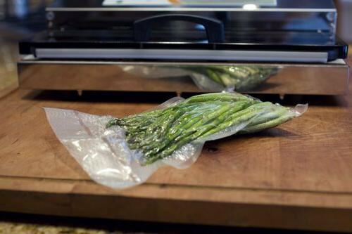 "200 8"" x Quart Vacuum Bags Kitchen Food Saver Mil"