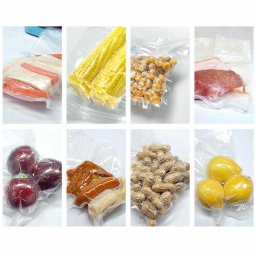 4 8x50 Vacuum Bags 4Mil Embossed Food Saver Sous Vide