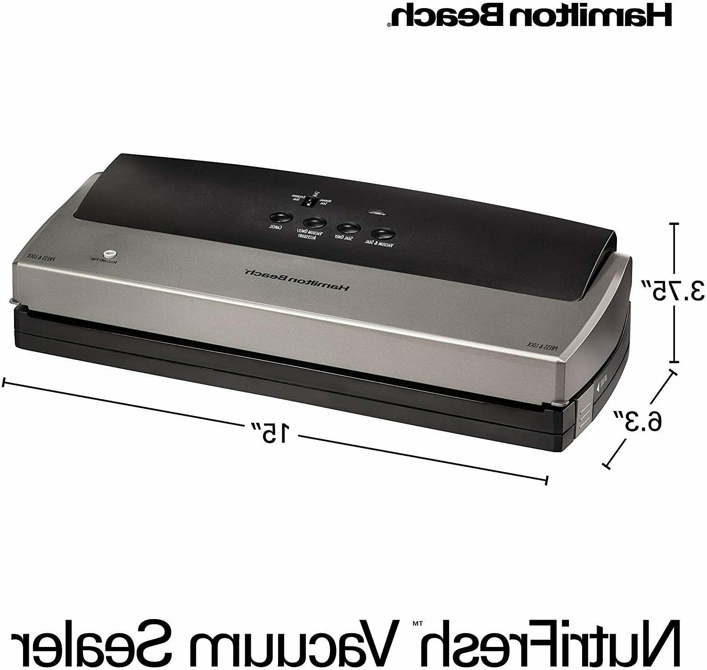 Hamilton 78214 Vacuum Sealer Machine Free