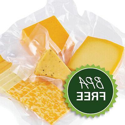 8X50 FoodVacBags Rolls Embossed Bags FoodSaver