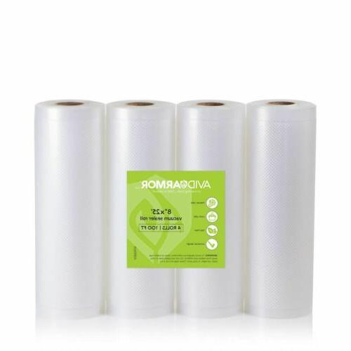 8 x 25 vacuum sealer bag rolls
