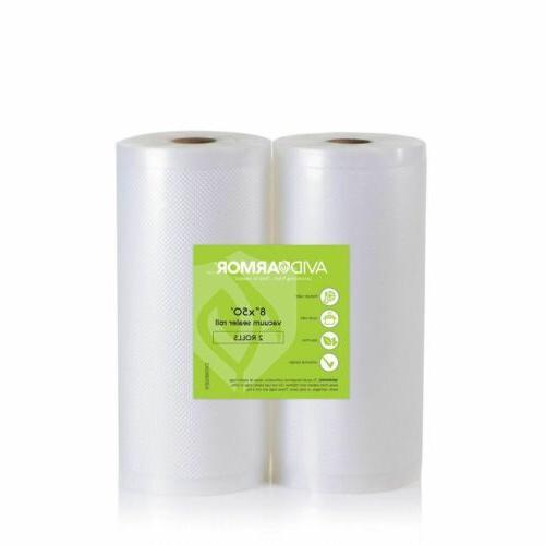 8 x 50 vacuum sealer bag rolls