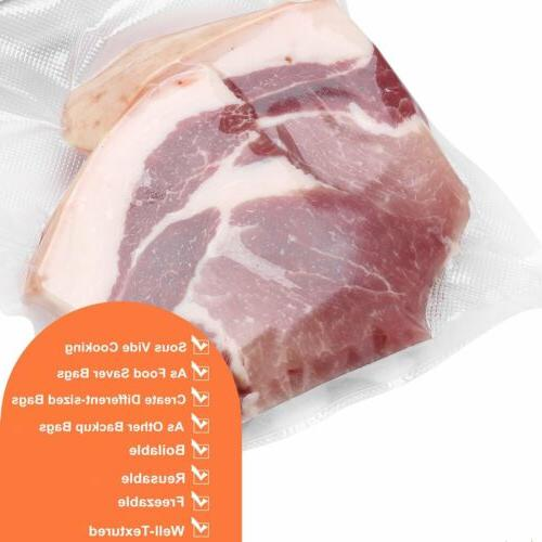 8x12 Quart Sealer Kitchen Food Storage Freezer Mil