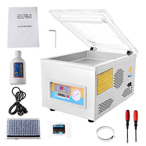 FoodKing Vacuum Sealer Vacuum Packing Machine Kit Storage Commercial Stainless