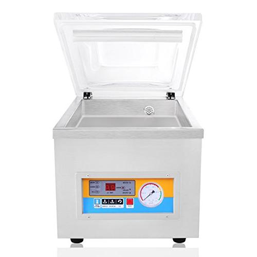 FoodKing Vacuum Packing Machine Kit Kitchen Storage Food Saver Preserving 120W Commercial Stainless