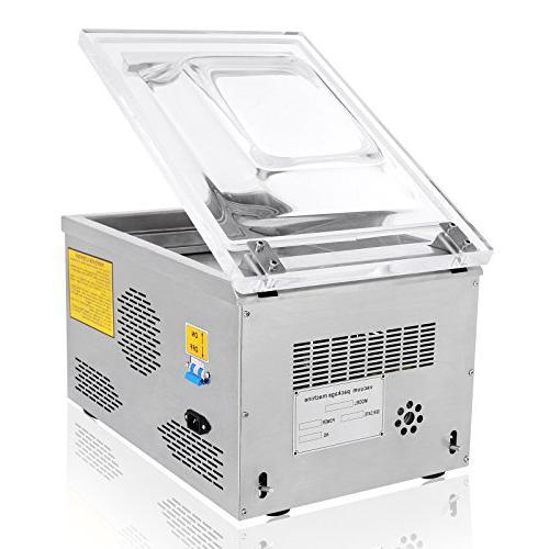 FoodKing Vacuum Sealer Vacuum Packing Machine Vacuum Chamber Kit Storage Saver Commercial Steel