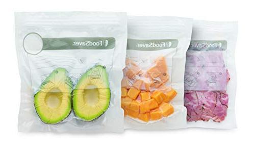 FoodSaver 1-Quart Construction Zipper Bags, 18 Count