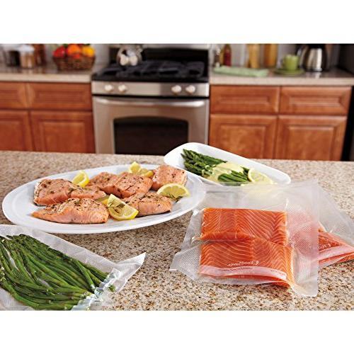 FoodSaver Vacuum Seal | Make Custom-Sized BPA-Free Sealer | 3-Pack