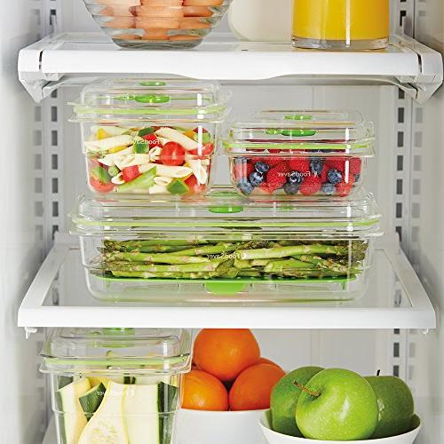 FoodSaver Fresh Seal Storage Containers, 2 Trays
