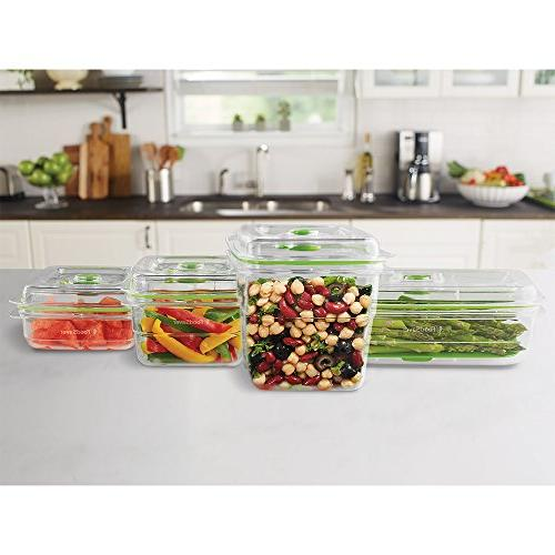 FoodSaver Seal Food Containers, 4-Piece Set 2