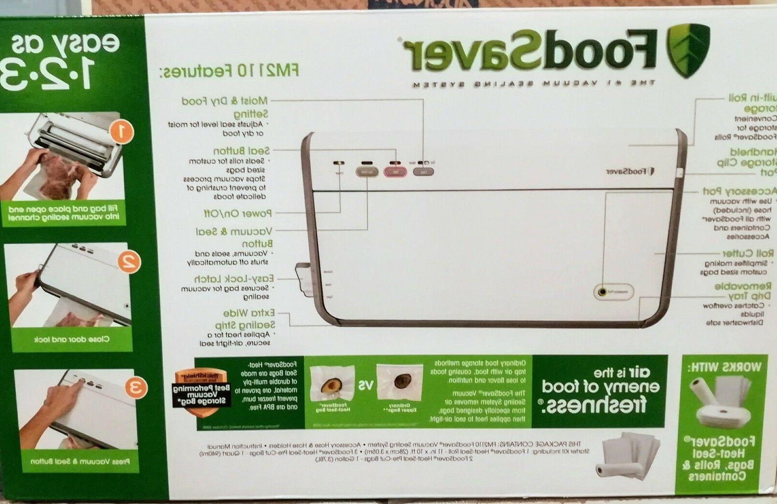 FoodSaver FM2110 Vacuum Sealing System