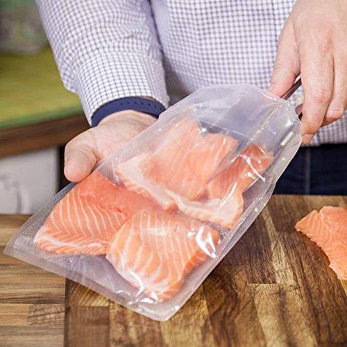 FoodVacBags Vacuum Bags mil Embossed for Vide Foodsaver