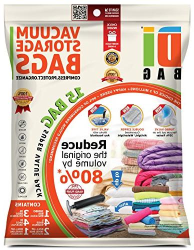 Space Storage Bags Travel Bags Bag Size: 2X Sealed Compression Bags Clothing , Packing DIBAG