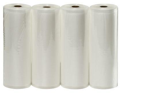 """VacMaster Four 11.5"""" X 50' Rolls of Vacuum Sealer Bags"""