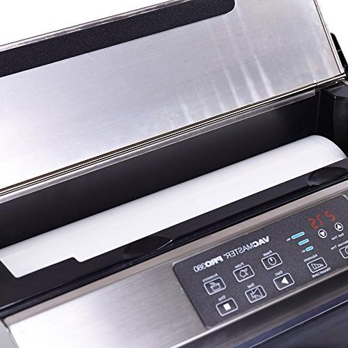 """VacMaster PRO380 Suction Sealer with 16"""" Seal"""