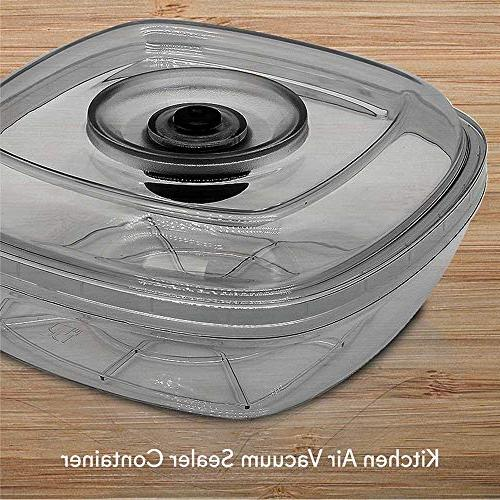 Air Seal Food Container Capacity Reusable Food Box Canister Meal Prep, Lunch, Cereal, Food NutriChef PKVSCN2L