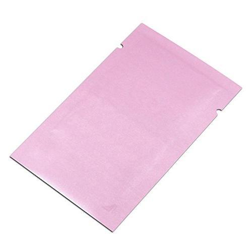 5x8cm Aluminum Foil Smell Leak Proof Bag Seal Mylar Foil Pouch Food Grocery Giveaway