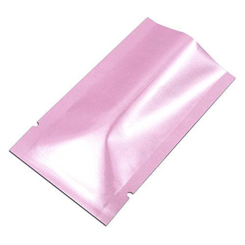 5x8cm Aluminum Smell Leak Packaging Mini Bag Mylar Foil Pouch Food Giveaway