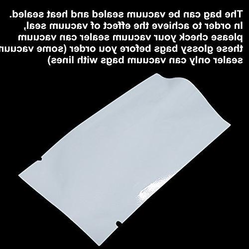 "2.8""x3.9"" Aluminum Proof Pouches Heat Open Mylar Packaging Coffee Candy Tea Foil Pouch Tear Notch"