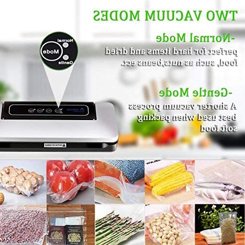 Aobosi Food Vacuum with BPA Roll Food and Low Noise,Normal& Modes,Multi-use Vacuum Machine