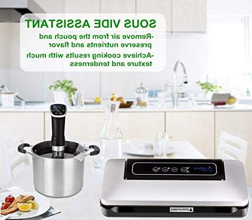 Aobosi Food with Free Bag Roll and Sous Low Modes,Multi-use Vacuum