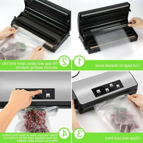 Automatic Food Vacuum Sealers Commercial Sealing TN