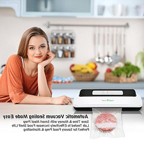 Vacuum Sealer | Automatic Vacuum Preservation Kit Compact Design