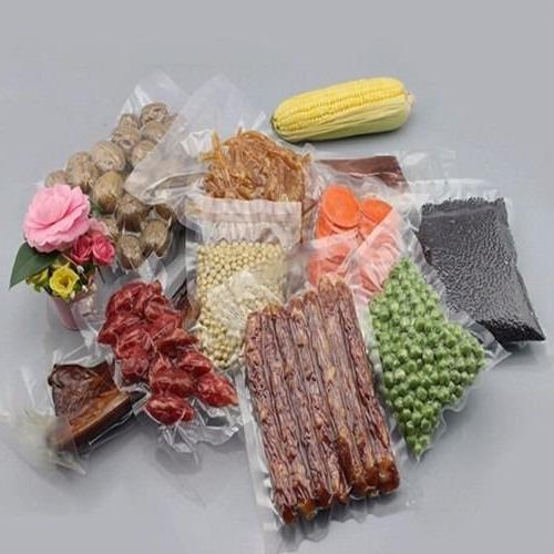 Clear 3.15mil Nylon Storage Commercial Vacuum Bags Tea Beef Packaging