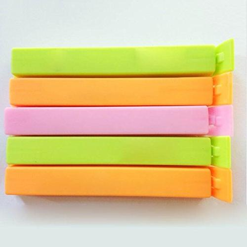 Clip 6pcs Snack Bag Plastic Ziplock Home Helper - Tissue Handy Travel Heat Close