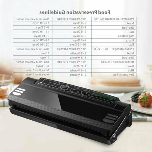 Commercial Food Vacuum Sealer +Bag