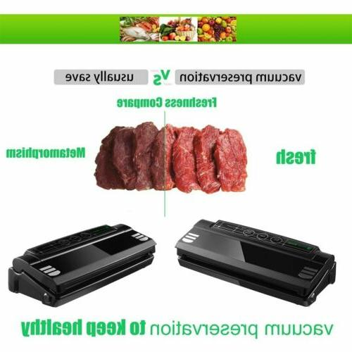 Commercial Food Vacuum Sealer +Bag System Fresh Storage TN