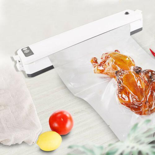 Commercial Food Vacuum Sealer Meal Foodsaver Sealing+10bags