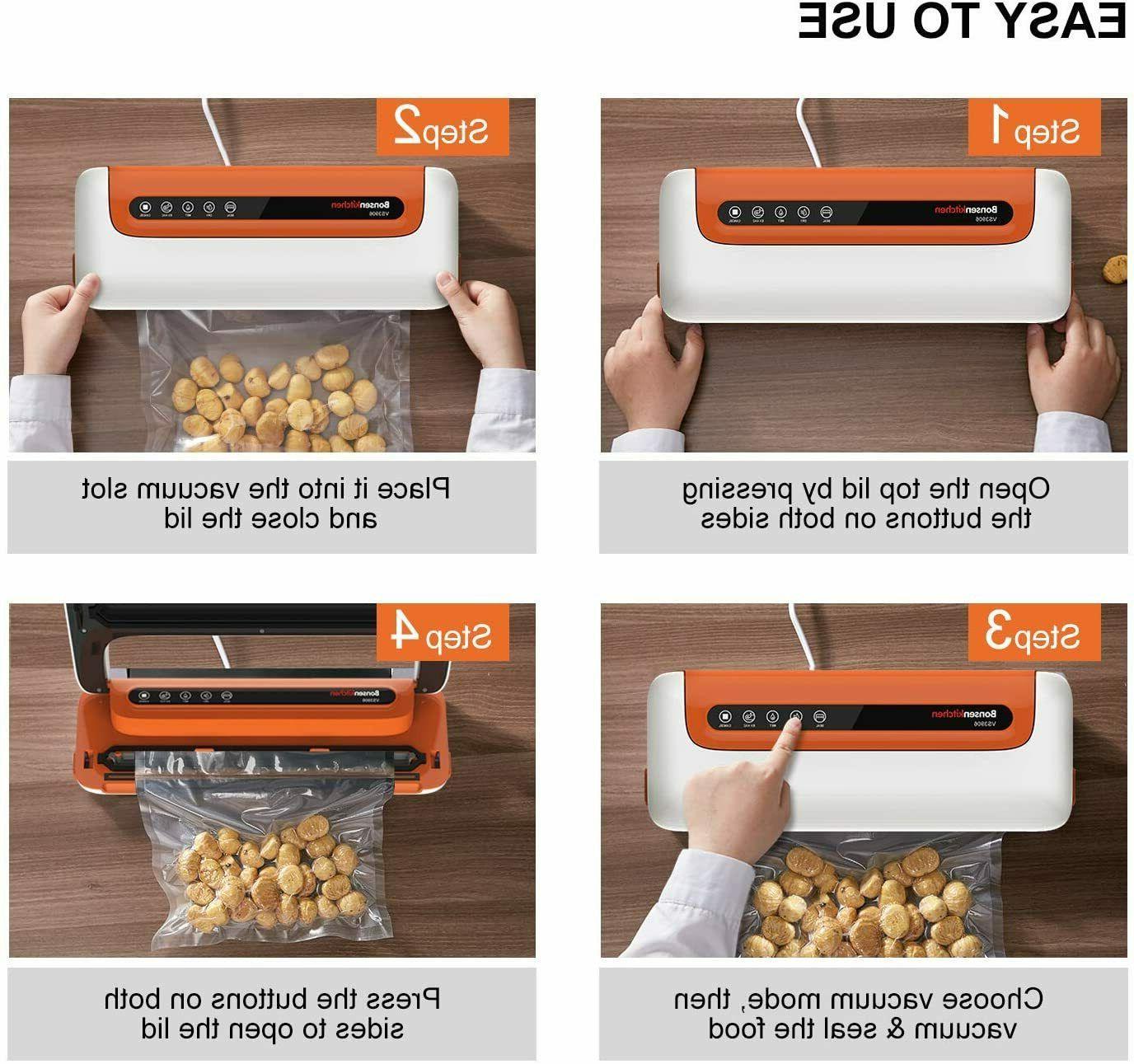 Commercial Food Saver Vacuum Sealer Machine Seal Meal