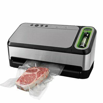 commercial food saver vacuum sealer machine sealing